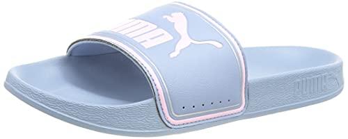 PUMA Leadcat FTR PS Schiebe-Sandalen, Forever Blue Pink Lady, 33 EU