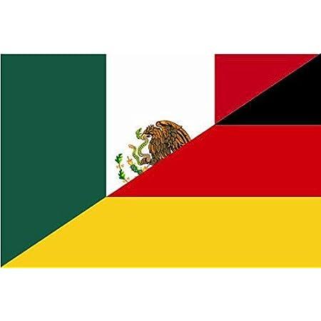 U24 Aufkleber Mexiko Deutschland Flagge Fahne 15 X 10 Cm Autoaufkleber Sticker Auto