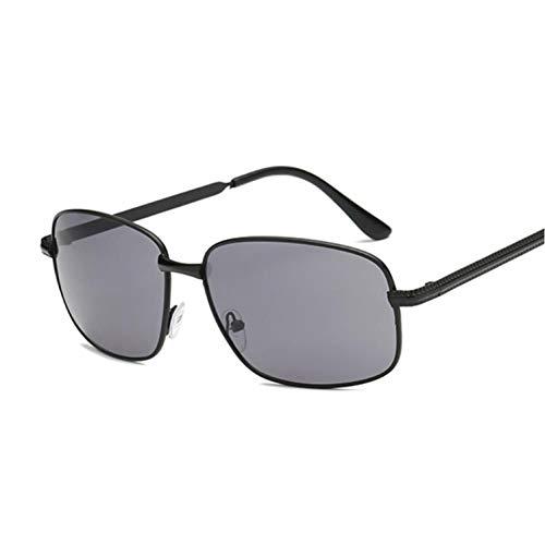 TLXOZ Square Men Sonnenbrille, Driving Sun Brille Rechteck Stil Polarisierte Sonnenbrille Uv400 Schutz