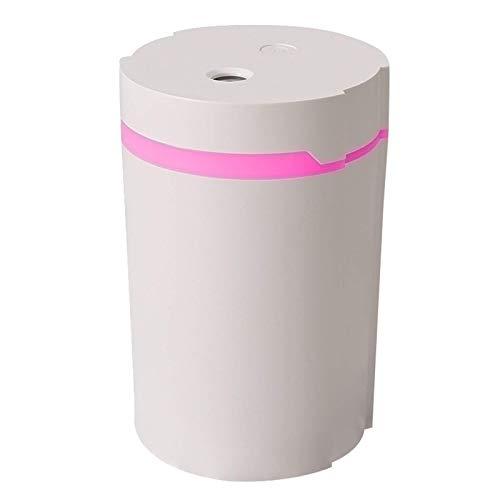 Humidificador de vapor frío 280ml, Mini humidificador con luz de noche, Zona ultrasónico portátil de pequeño tamaño y for el coche, la oficina, el sitio del bebé, apagado automático, sin agua Protecci
