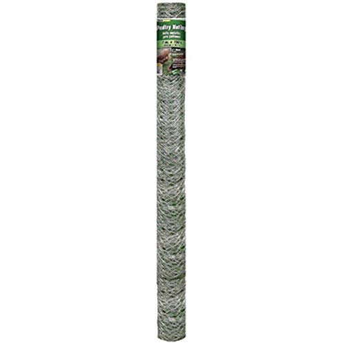 Mat 308498B 72-Inch by 150-Feet 2-Inch Mesh Galvanized Poultry Netting