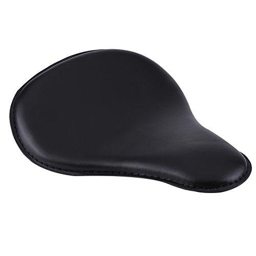 Asiento individual que absorbe los golpes, asiento de moto de cuero suave con cojín suave hecho de esponja