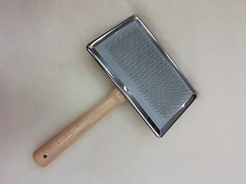 Leibersperger vachtborstel/schapenvachtborstel/verzorgingsborstel voor lamsvachten