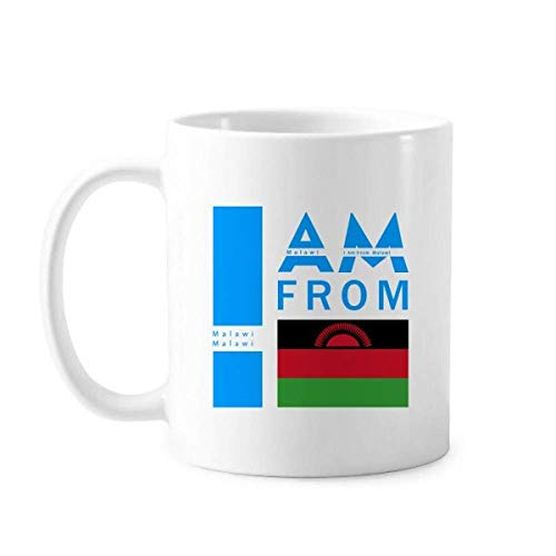 I Am from Malawi Art Deco Geschenk Fashion Mug Keramik Kaffee Porzellan Tasse Geschirr