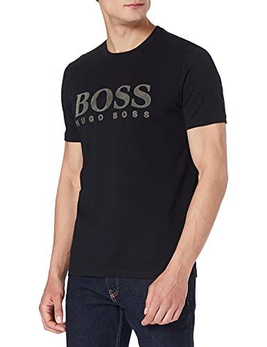 BOSS Tlogo 21 10232834 01 Camiseta, Negro1, L para Hombre