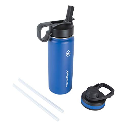 Thermoflask Double Stainless Steel Insulated Water Bottle, 18 oz, Cobalt