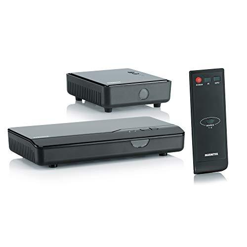 Marmitek GigaView 821 - HDMI Extender - HDMI drahtlos - Full HD - 1080P - 3D - Single floor - durchschleifen - Infrarot Rückkanal - Ersetzen Sie drahtlos Ihr HDMI Kabel