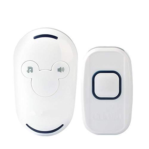 GJNVBDZSF Electronics Loud Home Schnurlose Fernbedienung Glocke Ruft Fernbedienung elektrische drahtlose Türklingel