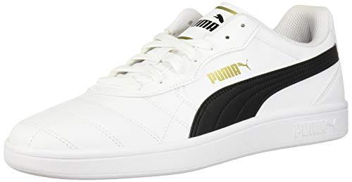 PUMA Astro Kick Sneaker, Bianco (Puma White-puma Team Oro-grigio Viola), 43 EU