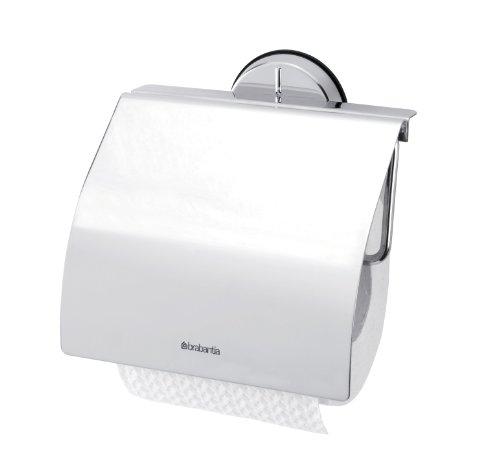 Brabantia Toilettenpapierhalter, hochglanzpolierter Stahl
