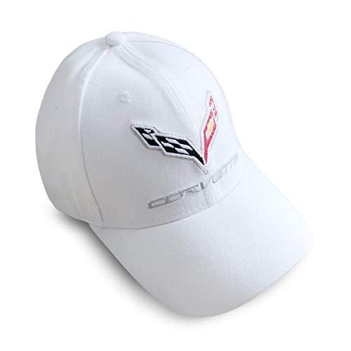 Herren Damen Baseball Caps,Hüte, Classic Mützen, BearFire Logo gestickte weiße Farbe Verstellbare Baseballmützen für Männer und Frauen Hut Reisekappe Racing Motorhut Passend Mitsubishi Zubehör