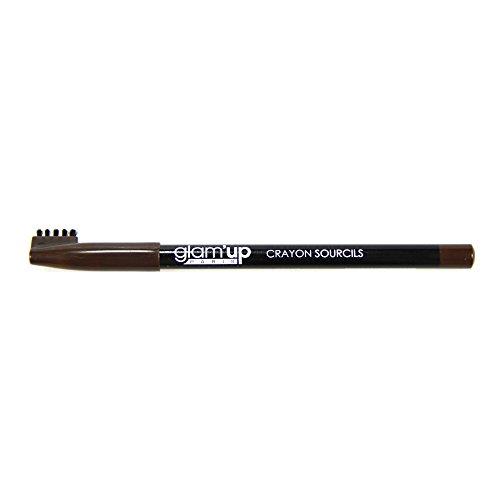 Crayon Sourcils Glam'Up N°02 Marron Foncé