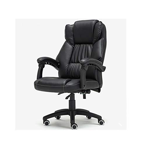 JCXOZ-sedia da ufficio Chair Home Office Sedia in pelle schienale Altezza 70 centimetri Tilt Funzione formato della sede 50x51cm Altezza seduta 40-48cm Desk Sedie