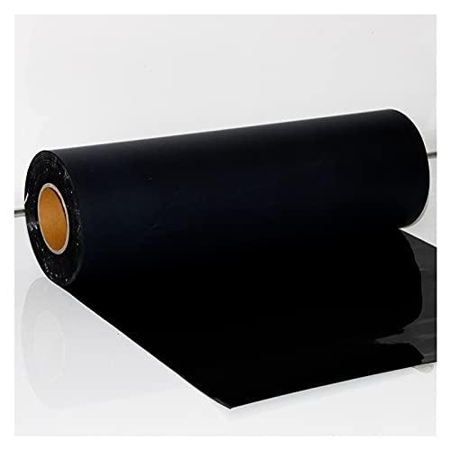 """vinilo de transferencia de calor htv 20""""x20"""" (50x50cm) negro flocado HTV Craft Vinyl - Flock Transferencia de calor Vinilo para y silueta de hierro campeón en camiseta hierro sobre"""
