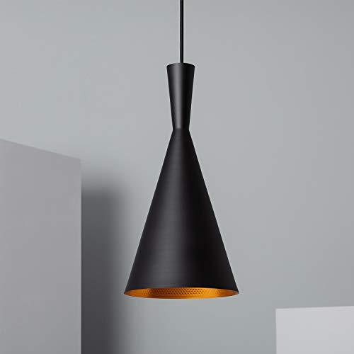 LEDKIA LIGHTING Lámpara Colgante Lennon Negro
