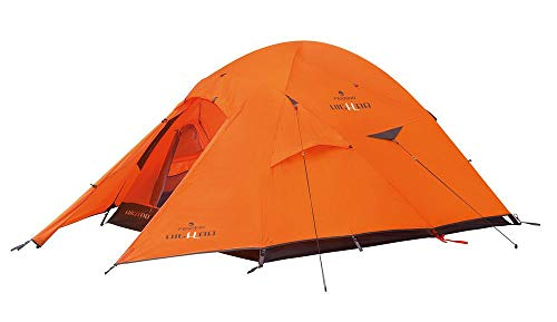 Ferrino Pilier Tenda, Arancione, 2 Persone