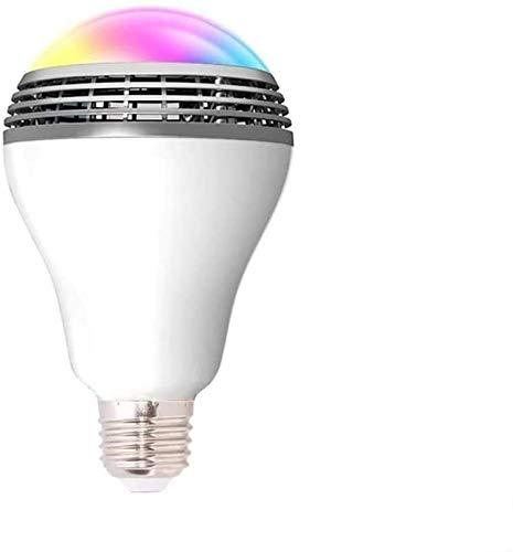DKEE DDS LED Smart Phone Controllo App colorato Lampadina Senza Fili dell'altoparlante di Musica di Bluetooth E27 Lampada della Lampadina Decorazione
