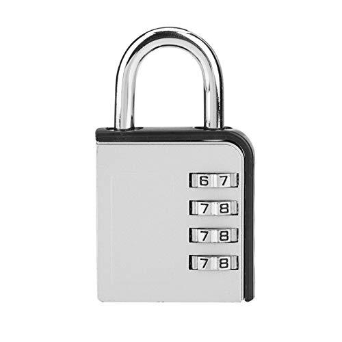 Bloqueo de código de equipaje Candado de maleta Función antirrobo Cerradura de combinación de 4 dígitos, para casilleros, equipaje, cajas de herramientas
