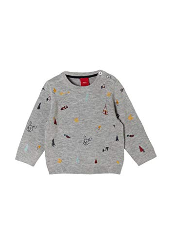 s.Oliver Junior Baby-Jungen 405.10.010.17.170.2058570 Pullover, 9400, 86