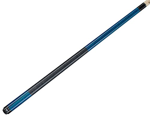 Valhalla by Viking 2 Piece Pool Cue Stick Irish Linen Wrap 16-21 oz. PLUS Rosin Bag (Blue VA113, 20 oz.)
