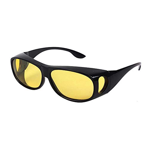 Gemgoo Unisex HD Vision Driving Sunglasses Wrap Around Glasses As Seen TV Anti Glare UV