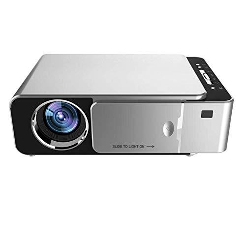 ASFF Mini-LED-Projektor, 3D-Projektor, Heimkino, Beamer, Bluetooth, für Gaming-Familie