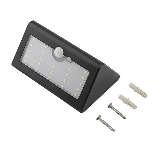 Bubbry 25 LED weerbestendige zonnelader buitenbewegingssensor wandlamp nachtlamp