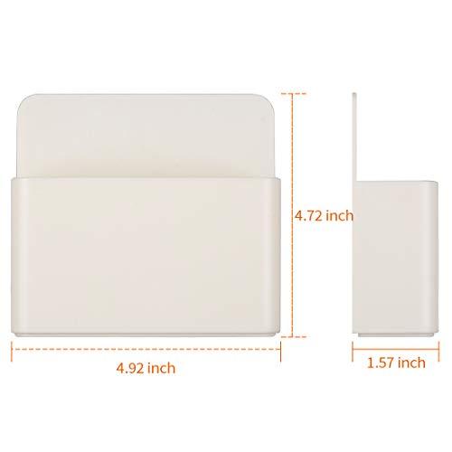 1 Pack Magnetic Dry Erase Marker Holder, Whiteboard Marker Holder, Mighty-magnetic Marker Pen Organizer for Whiteboards (White) Photo #5