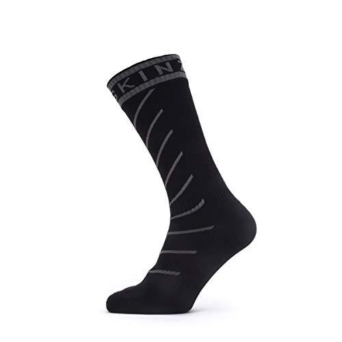 SealSkin Unisex Socken Warm Weather Soft Touch Socken, schwarz/grau, M, 2019088142