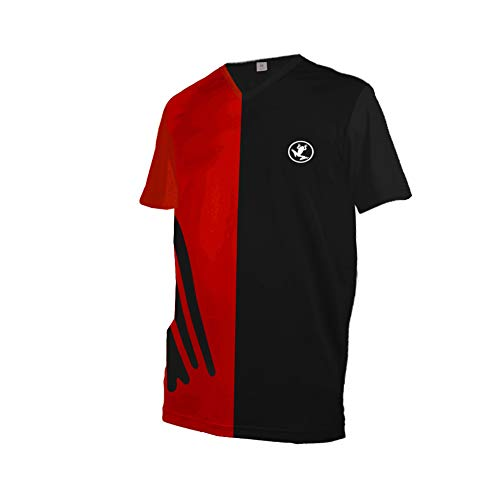 Uglyfrog MX Jersey MTB Downhill Shirt - Kurz/Langarm Funktions-Shirt Für Moto-Cross, BMX, Mountain Bike, Offroad - Größe XS-6XL HerDownJK08