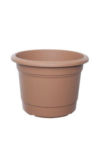 Whitefurze G01R50 - Macetero Circular (50cm), Color marrón
