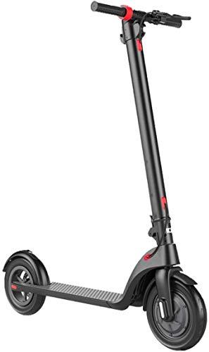 Xiaokang Scooter eléctrico Plegable para Adultos Mini Rueda portátil de Dos Ruedas 10 Pulgadas Scooter eléctrico 1056 * 420 * 450mm