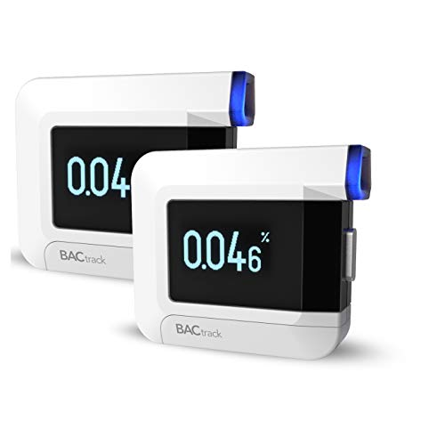 BACtrack C8 Personal Breathalyzer (2 Pack)   Professional-Grade Accuracy   Optional Wireless Smartphone Connectivity to Apple iPhone, Google & Samsung Android Devices   Apple Health Kit Integration