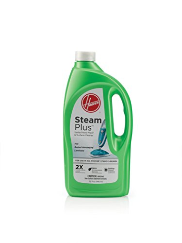 Hoover WH00015 Hard Floor Cleaning Solution, SteamPlus Multi-Floor 2X Concentrated Formula, 32 oz