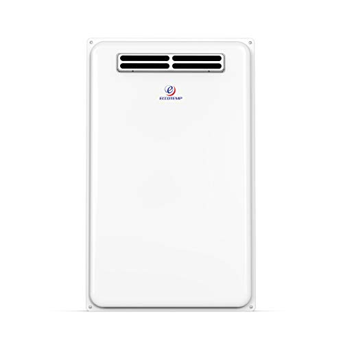 Eccotemp 45H-LP 6.8 GPM Outdoor Propane Tankless Water Heater, White