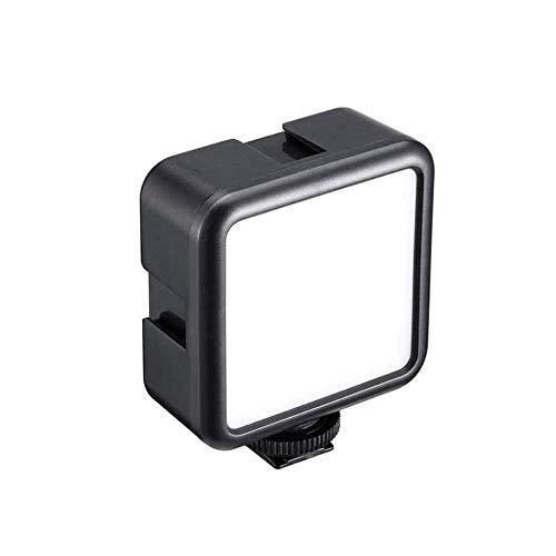 ULANZI VL49 2000mAh LED Video Light w 3 Cold Shoe, Rechargeable Soft Light Panel for...