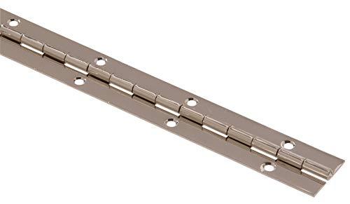 Hillman Hardware Essentials 851971 Continuous Pin 48' x 1-1/2' Nickel