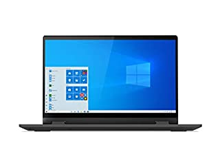 "Lenovo IdeaPad Flex 5 14"" Convertible Laptop, FHD (1920 x 1080) Touch Display, Intel Core i5-1035G1 Processor, 8GB DDR4 Onboard RAM, 128GB SSD, Intel UHD Graphics, Win 10, 81X1004RUS, Graphite Grey (B0872JDR2M) 