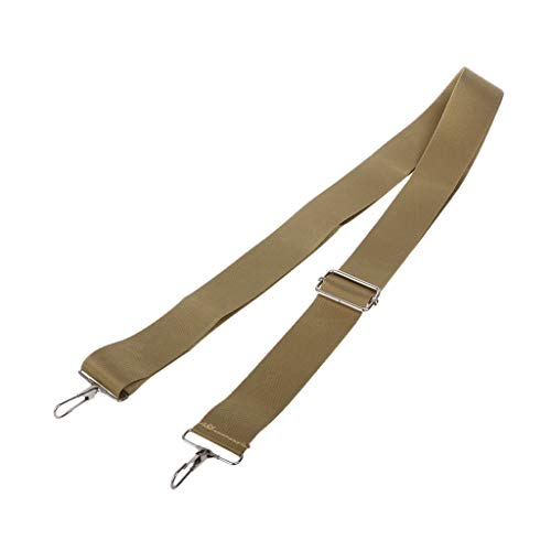 VIcoo Nylon Bag Strap voor mannen schouderriem Crossbody Strasp aktetas laptoptas - bruin