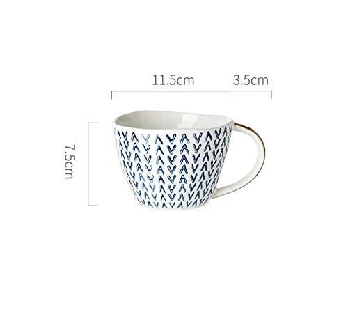Teekanne Kaffeetasse Mark Keramik Teetasse Home-Pfeil Weihnachtsgeschenk