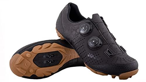 LUCK Zapatillas MTB Galaxy Calaveras. Zapatos Ciclismo Montaña para Hombre y Mujer. Suela de Carbono. Doble Cierre Rotativo ATOP. Calzado Bicicleta MTB