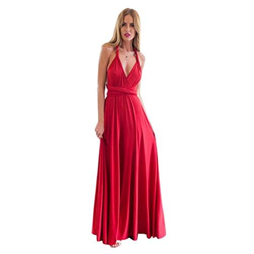 Tree-es-Life Vestido de Verano para Mujer, método de Uso múltiple, Vendaje Cruzado,...