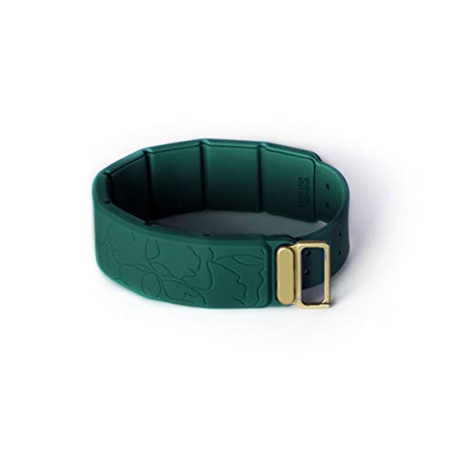 Green Nature – Corrector de estado funcional (CEF) Pulsera Navegador de Salud, color verde