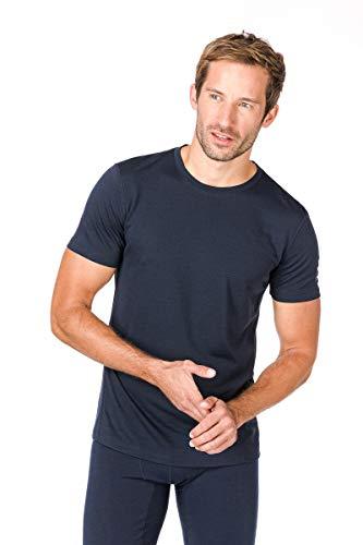 Super.Natural T-Shirt pour Homme M Base Tee 175 M Bleu foncé