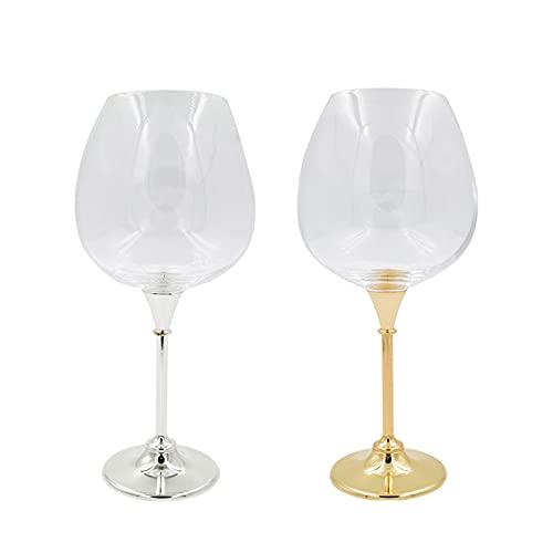 YLEL Crystal Large Red Wine Wine Class Bar Club Tall Vino degustación Vidrio Manzana Vidrio Grande Capacidad, Color (Blanco) (Color : White)