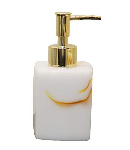 Distributeur de savon pour salle de bain Distributeur de shampoing [Blanc 01]