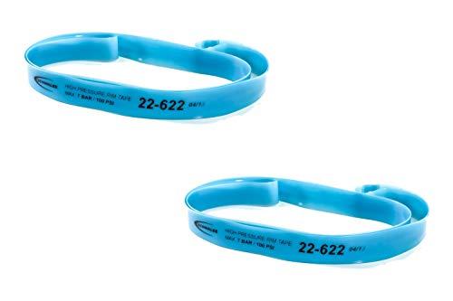 2 Stück 28-29 Zoll Schwalbe Felgenband Trekking MTB 22-622 Rim Tape High Pressure 7 bar 22mm breit