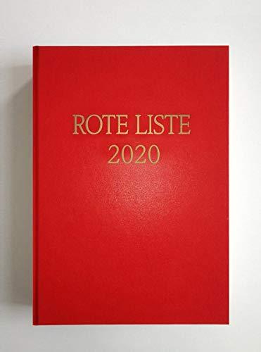 ROTE LISTE 2020 Buchausgabe Einzelausgabe: Arzneimittelverzeichnis für Deutschland (einschließlich EU-Zulassungen und bestimmter Medizinprodukte)