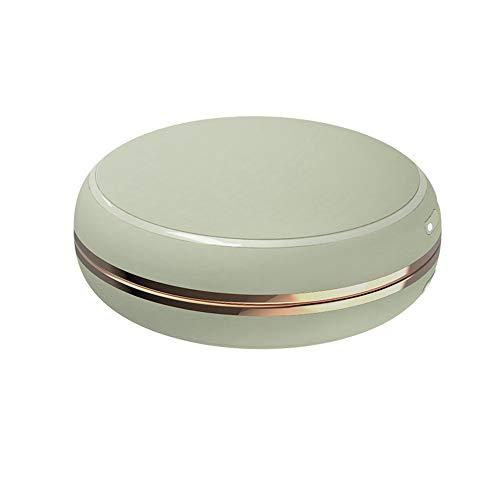 Timagebreze Calentador de Manos PortáTil con Espejo 10000MAh Banco de EnergíA Bolsillo de Carga USB Calentador EléCtrico de EnergíA MóVil-Verde