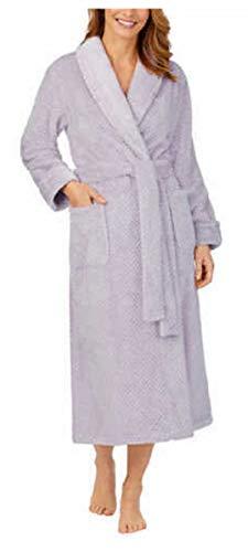 Carole Hochman Ladies' Plush Wrap Robe (Light Purple, Large)